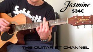 Jasmine S-34C Guitar